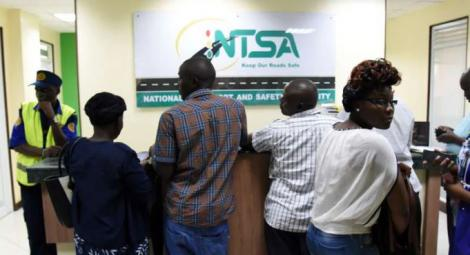 Citizens at NTSA offices