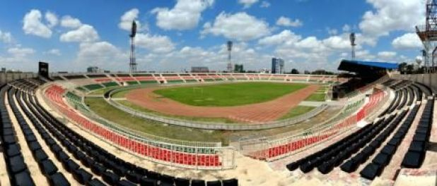A panoramic view of the Nyayo National Stadium as of May 25, 2020