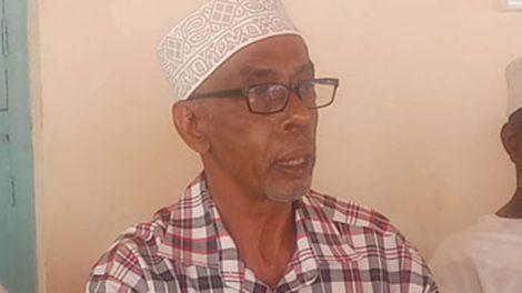 Save Lamu co-founder Abubakar Mohamed Al-Amudy