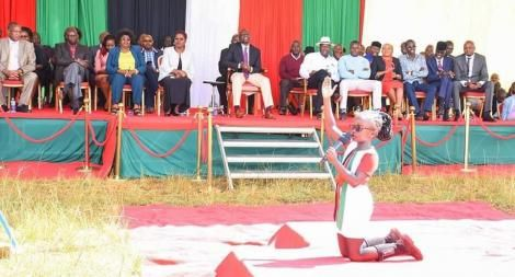 Abilasha Muthoni performs for Deputy President William Ruto in Kandara constituency on Friday, March 6, 2020.jpg