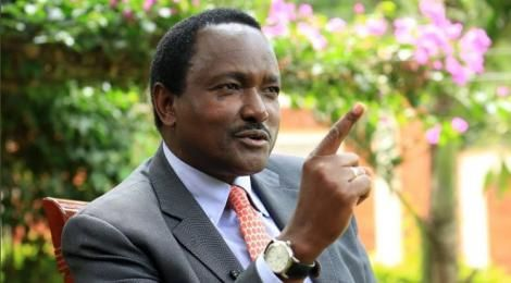 Wiper Leader Kalonzo Musyoka during an interview on May 19, 2020.
