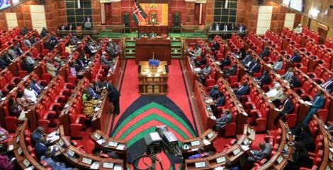 File image of Parliament in session.