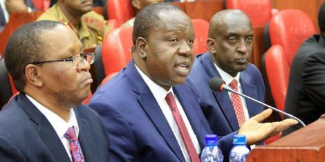 Matiang'i's Aide Kicked Out of Parliament by Angry MPs - Kenyans.co.ke