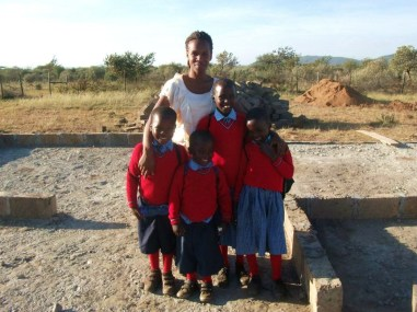 jeanne with kids
