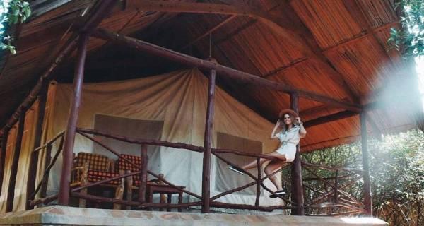 Kenya safari lodge