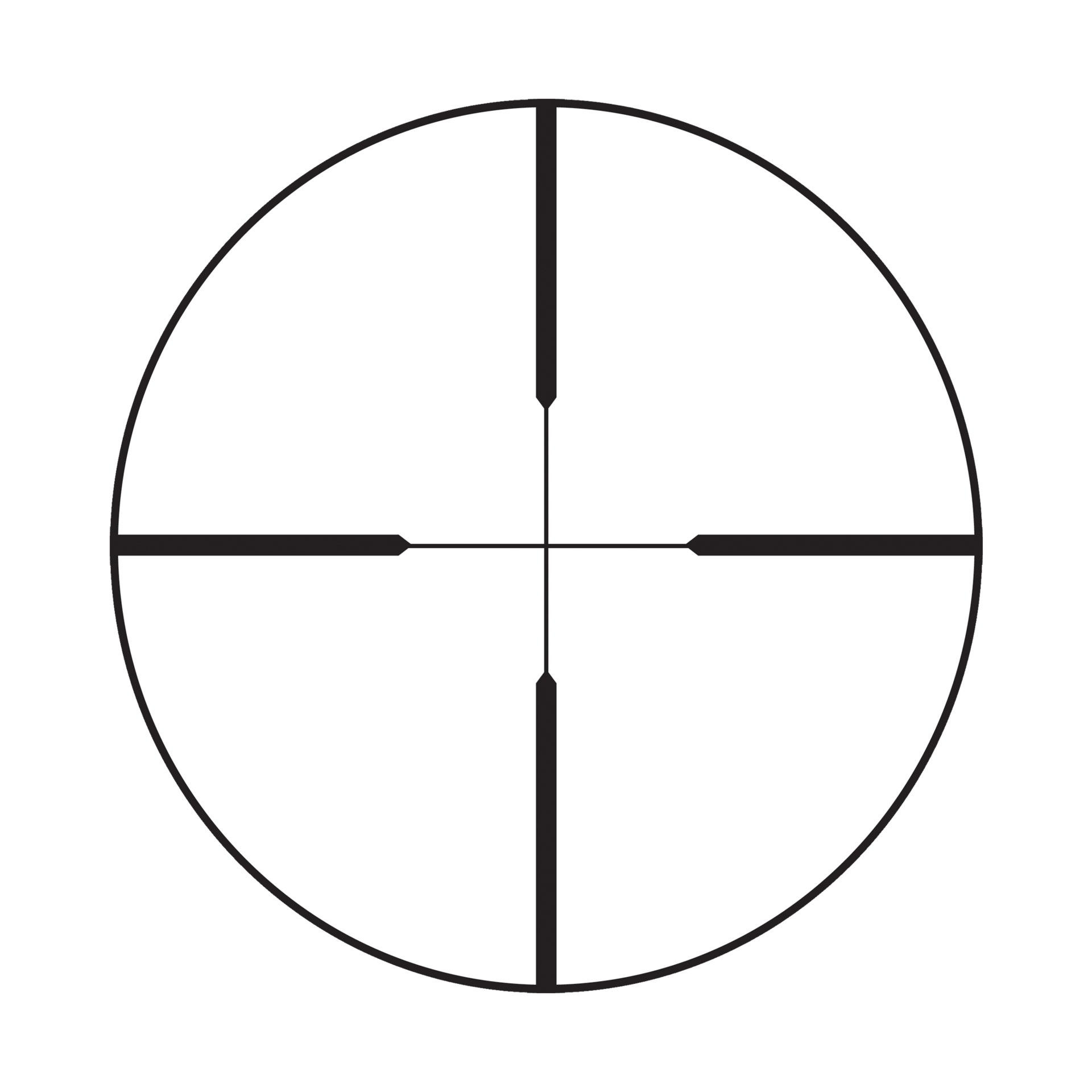 Redfield Revolution 3 9x40mm 4 Plex Reticle