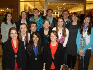 KHS Students Awarded at State Science Fair