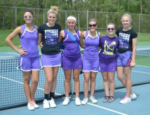 Girls Tennis Crowned SEC Champs