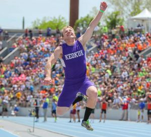 KHS Represented At State Track Meet