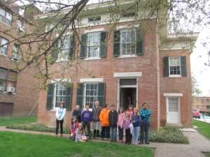 4th & 5th Graders View Underground Railroad Site