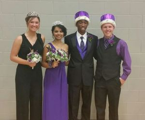 2014 Homecoming King & Queen Introduced