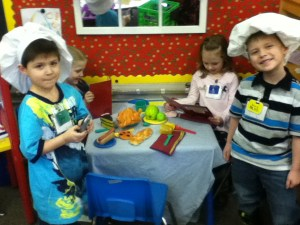 Manners On Menu At Pre-K Cafe