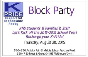 KHS Block Party