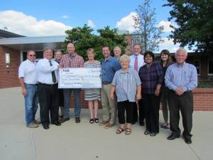 KHS Accepts Gift from KEDC