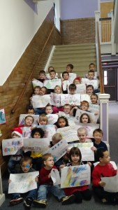 PreK Artists Share Talent