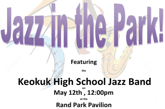 Free Jazz Concert at Rand Park Pavilion