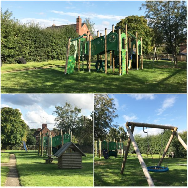 gallowstree common playground kidmore end parish council oxfordshire collage 1