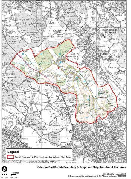 Kidmore End map - NDP V2