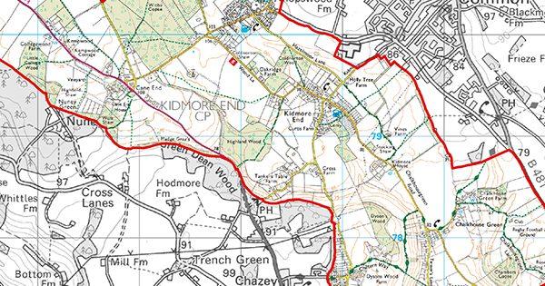 kidmore end parish council ndp map