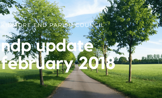 kidmore end parish council ndp feb update