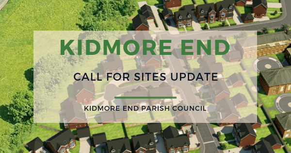 kidmore end parish council call for sites update ndp