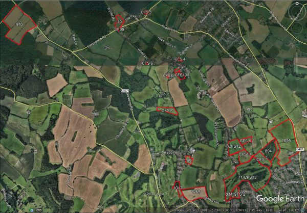 call for sites -map-website