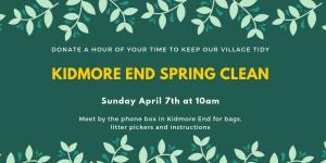 Kidmore End Spring Clean