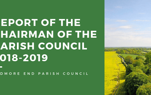 Report of the Chairman of the Parish Council 2018-2019