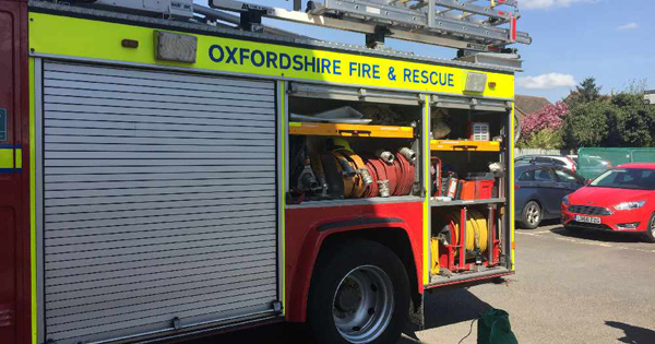 on call firefighters oxfordshire