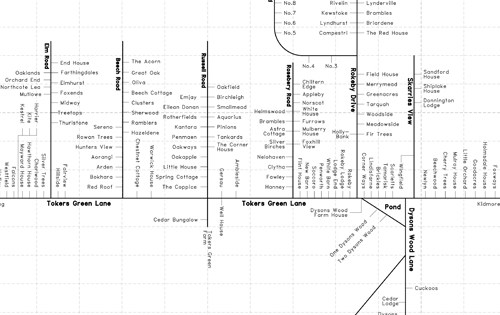 tokers green house map