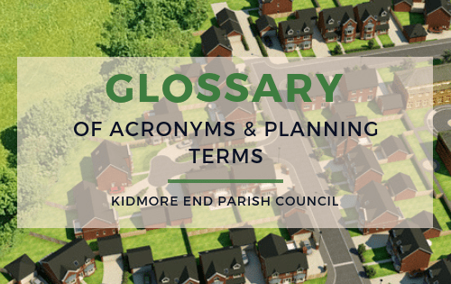 Glossary of Acronyms & Planning Terms