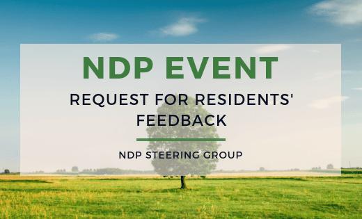 NDP feedback