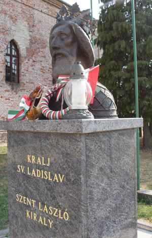Szent László szobor
