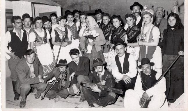 A falu rossza című előadás szereplői 1959-ben