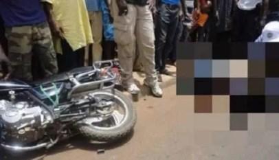 accident de moto à ziguinchor