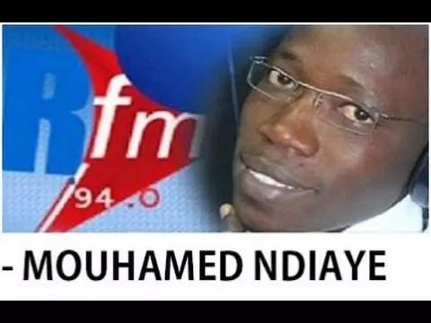 Revue de presse sur Rfm avec Mamadou Mouhamed