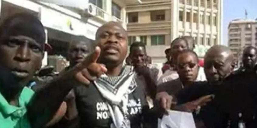 Manifestation à l'Assemblée nationale: Guy Marius Sagna, Abdourahmane Sow... arrêtés