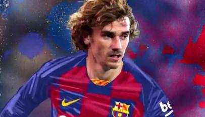 Antoine Griezmann s'engage avec le club de Barcelone