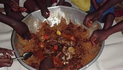 Pays menacé par la famine Sénégal dans la zone rouge