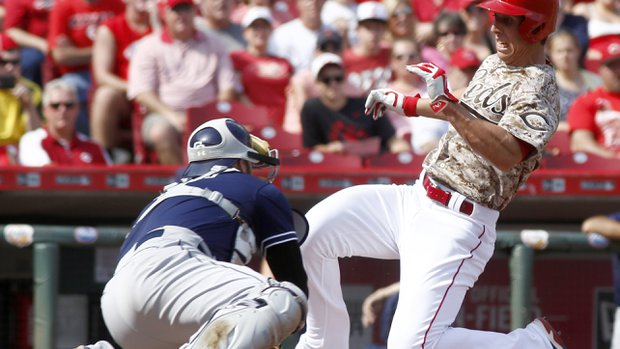 Padres V. Reds: A Series of Learning