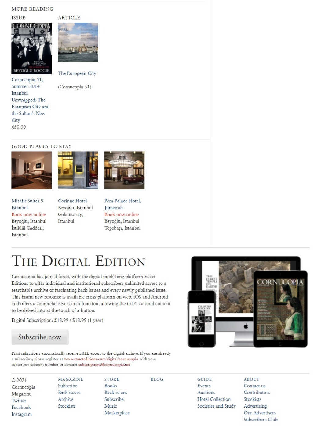 Cornucopia Magazine