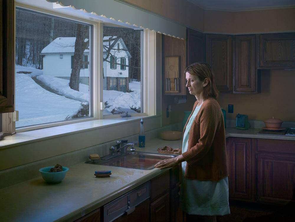Gregory Crewdson, The Woman at Sink. 2014