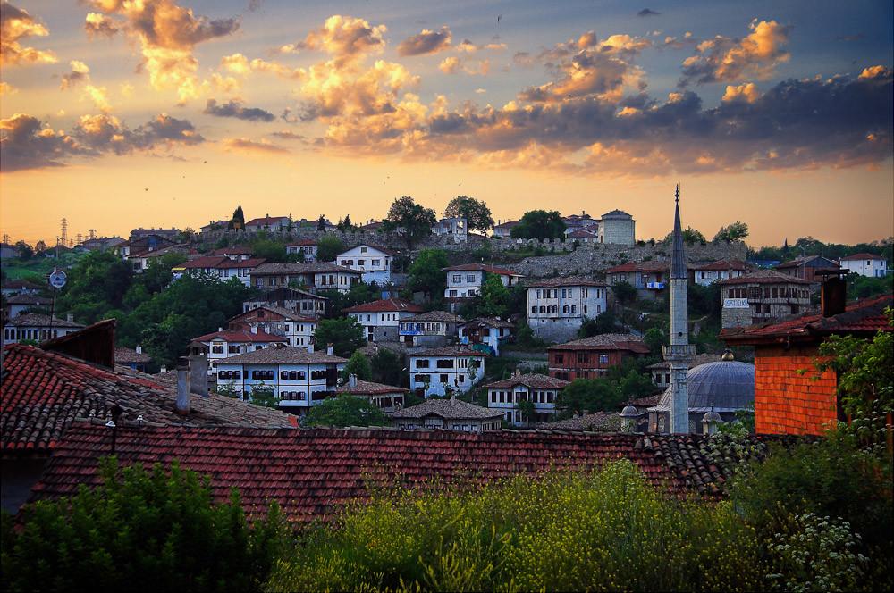 Sunrise over Safranbolu
