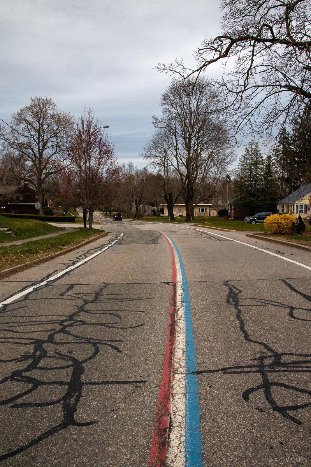 Narragansett Pkwy, Red-White-Blue going where?