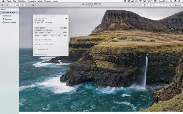 Apple Foto - Informazioni file