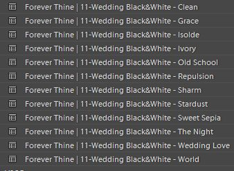 lightroom presets wedding sleeklens-wedding-forever-thine-preset-lightroom-preset-black-white