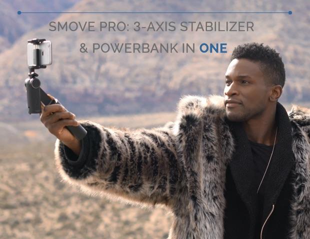 Smove Pro stabilizzatore per smartphone 3 assi