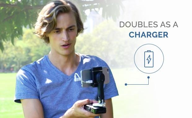Smove stabilizzatore smartphone power bank