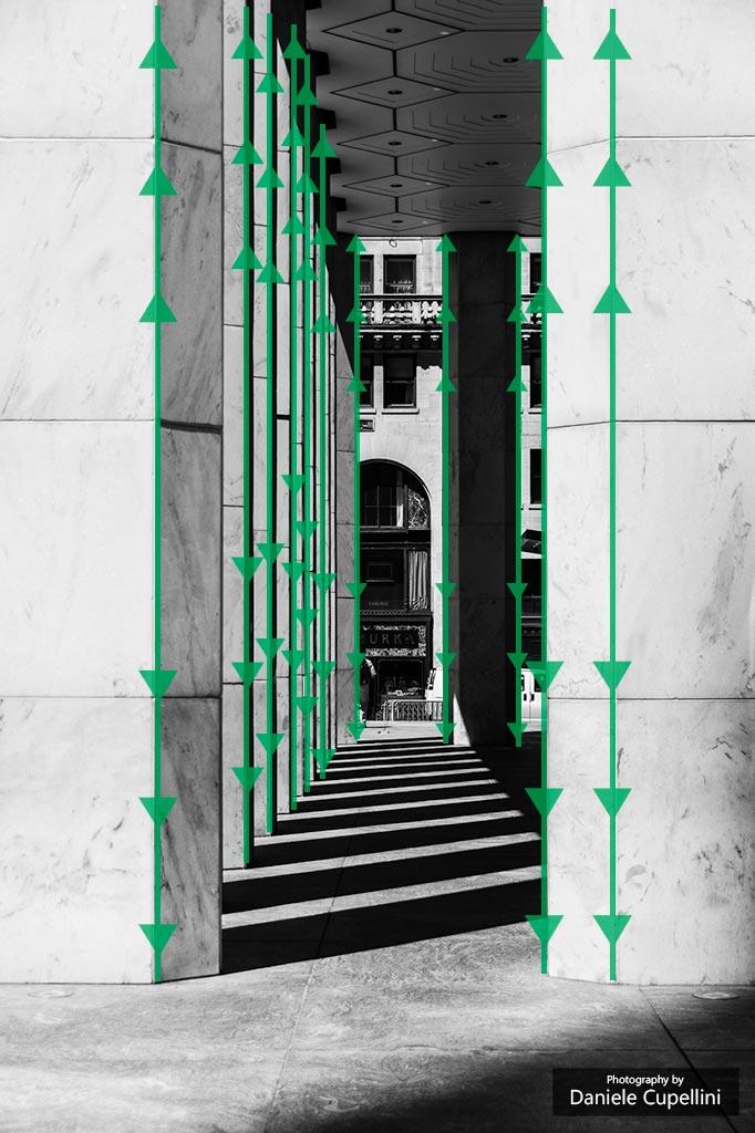 Keptun - Linee verticali
