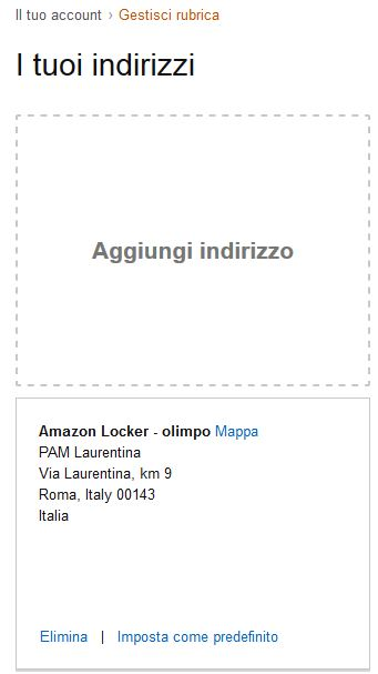 Amazon Locker rubrica